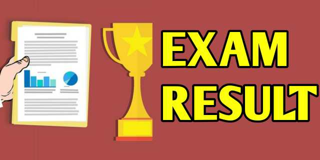 result of online exam sbfied